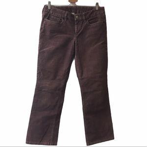 J. Crew corduroy pants purple size 30 Short